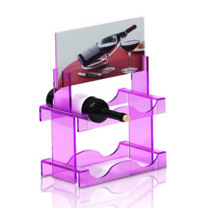 Eye-Catching Acrylic POS Display Stands for Wine pictures & photos