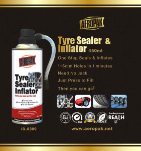 Aeropak Tyre Sealant Tire Repair Foam pictures & photos