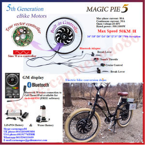 Bluetooth Programmable! 48V 1000W Hub Motor Bike Kit/Electric Bicycle Motor pictures & photos