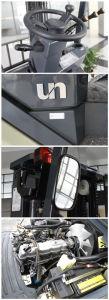 1.5t Un Brand Scissor Reach Truck Triplex 5.0m Mast pictures & photos
