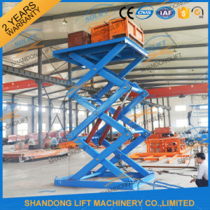 Powerful Hydraulic Telescopic Ladder with Ce pictures & photos