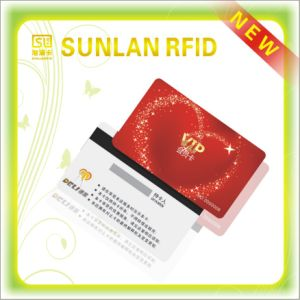 Cr80 Full Color Printing PVC Magnetic Card with Number and Letter Encoding pictures & photos