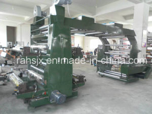 4 Colour High Speed Flexographic Printing Machine for PE Film Printing pictures & photos