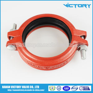Ductile Iron Grooved Rigid Coupling, Grooved Pipe Fittings