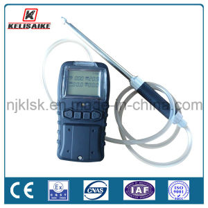 Rechargeable Lithium Battery Portable Multi Gas Detector for H2s O2 Co Lel/CH4 pictures & photos