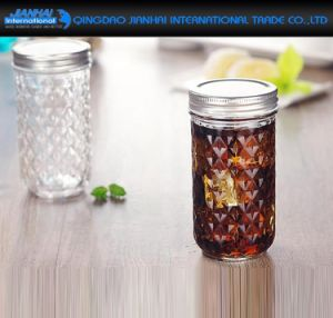 650ml Creative Cold Lemon Drink Coffee Container Glass Bottle pictures & photos