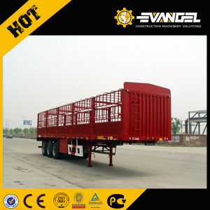 Flatbed Container Semi Trailer, Trailer Container, Trailer Chassis for Sale pictures & photos