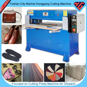 Auto Balance Leather Cutting Press Machine (HG-B40T) pictures & photos