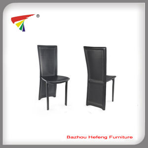 2017 Modern Black PU Metal Dining Chair (DC001) pictures & photos