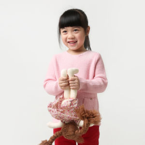 Phoebee Wool Knitted Kids Child Clothes for Girls pictures & photos