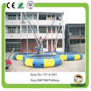 2014 Factory in China Safety Bungee Jumping Trampoline with Net pictures & photos