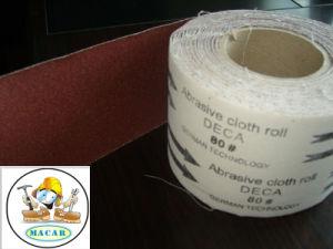 0.15X50m Aluminium Oxide Grinding Abrasive Cloth for Automotive Grinding pictures & photos