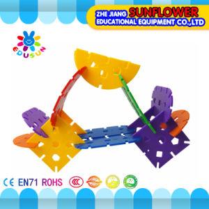 Children Plastic Desktop Toy Ikebana Building Blocks