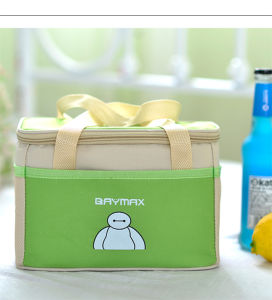 Green Polyester Ice Picnic Promotion Bag with Zipper