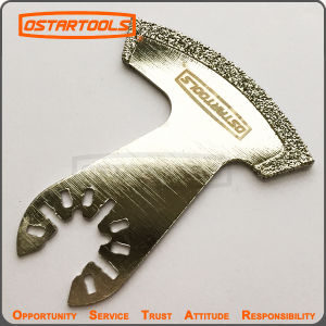Diamond Tool Sickle Cutting Blade with Quick Change Arbor pictures & photos