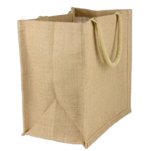 Best Big Natural Shopping Jute Tote Bags (CJB-2103) pictures & photos