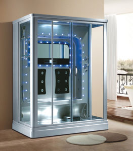 Multifunctional Rectangle Steam Shower Room