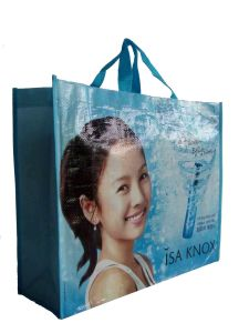 2016 Top Hot Eco PP Woven Lamination Shopping Tote Bag for Promotion