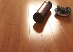 Solid Bamboo Flooring Teak Color UV Lacquer Smooth pictures & photos