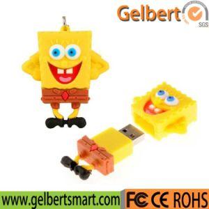 2016 Hot Sale Cartoon Spongebob Shape USB 2.0 Pen Drive pictures & photos