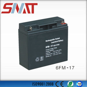 17ah Lead-Acid Battery for Solar Power System pictures & photos