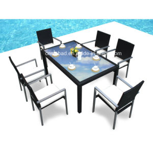 Outdoor Dining Set Ror Dining Room with Six Chairs (6213-A) pictures & photos