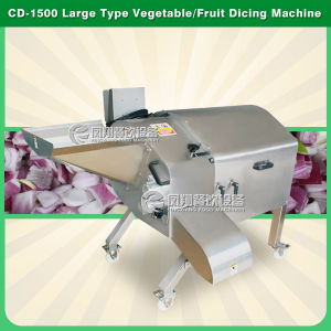 CD-1500 Big Large Output Fruit Cube Cutter Vegetable Cube Cutting Machine Fruit Cube Dicer Cube Dicing Machine Cube Chopper Square Cube Dicing Machine pictures & photos