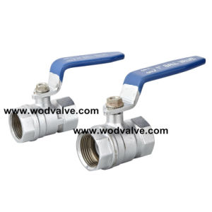 Brass Ball Valve with Nickle pictures & photos