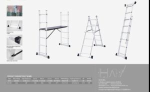Aluminium Scaffolding Ladder with Joints pictures & photos