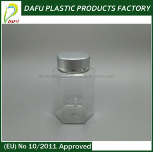 Pet 100ml Plastic Hexagonal Bottle pictures & photos