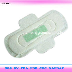 Ultra Thin Good Absorbency Anion Core Sanitary Towels with Wings pictures & photos