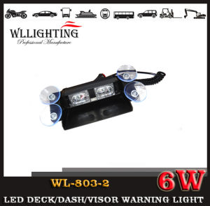 Tir 6W LED Shieldwind Strobe Warning Light pictures & photos