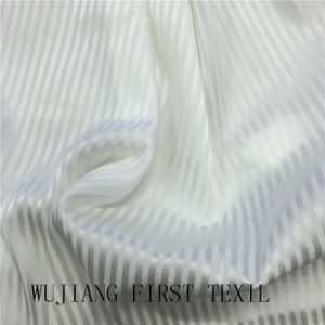 Silk Stretch Stripe 16m/M Solid Dyed Fabric pictures & photos