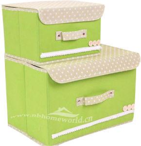 Solid Decorative Non Woven Storage Box