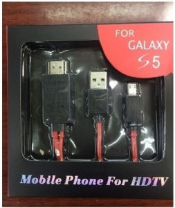 Mhl to HDMI Adapter Cable for Galaxy S5 S4 9500 pictures & photos