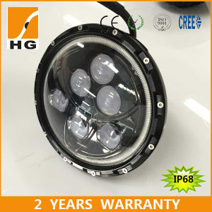 Emark DOT Certificated 7inch CREE LED High Low Beam Headlamp with Halo for Jeep Wrangler pictures & photos
