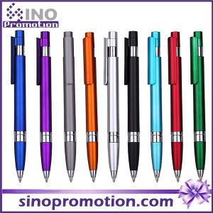 9 Color Available Plastic Click Ball Pen Asvertising Ball Pen pictures & photos