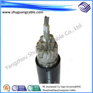PE Insulated PVC Sheathed Copper Wire Screened Flexible Instrument Computer Cable pictures & photos