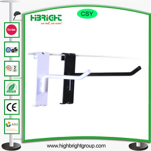 Powder Coated Metal Gridwall Display Hook with Price Tag pictures & photos