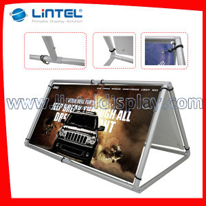 Big Size Outdoor Display Triangle a Frame (LT-23) pictures & photos