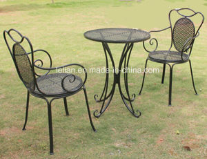 Outdoor Garden Vintage Iron Table and Chair Set pictures & photos