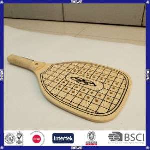Best Quality Durable Wooden Pickleball Racket pictures & photos