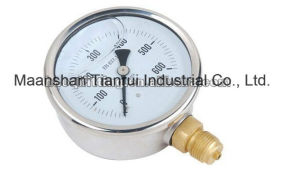 Water Proof Stainless Steel Pressure Gauge 0-5000psi