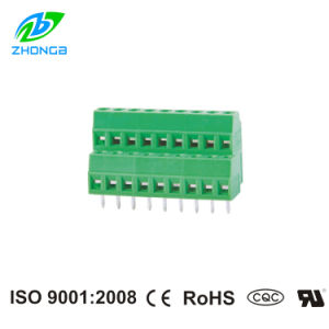 PCB Screw Terminal Blocks (ZB-127HL) Pitch 3.5mm 3.81mm