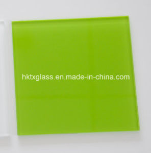 Tempered Back Painted Glass with En12150 and ANSI Certificate pictures & photos