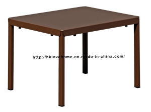 Morden Replica Industrial Dining Coffee Metal Table pictures & photos