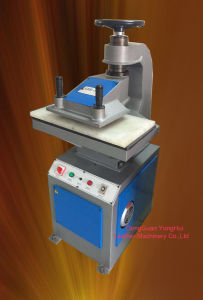 Travelling Head Plastic PVC/TPR EVA /Leather Cutting Machine (GSB-10) pictures & photos