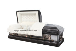 American Style Metal Casket (18201582) pictures & photos