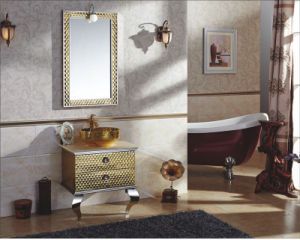 Sanitary Ware Stainless Steel Bathroom Cabinet (YX-8853)
