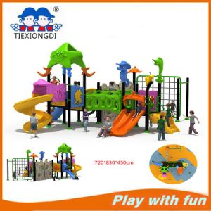 Rubber-Coating Outdoor Playground Equipment Txd16-Bh124 pictures & photos